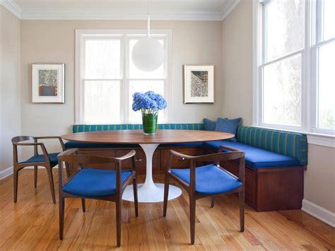 Breakfast Nook With Midcentury Modern Banquette
