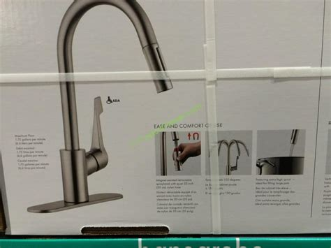 Hansgrohe Cento Pull-down Kitchen Faucet