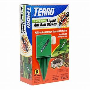 Terro Outdoor Liquid Ant Stake-T1812 - The Home Depot