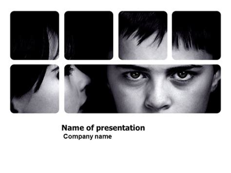 child psychology  template  powerpoint