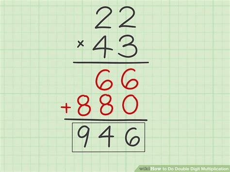How To Do Double Digit Multiplication 10 Steps (with Pictures