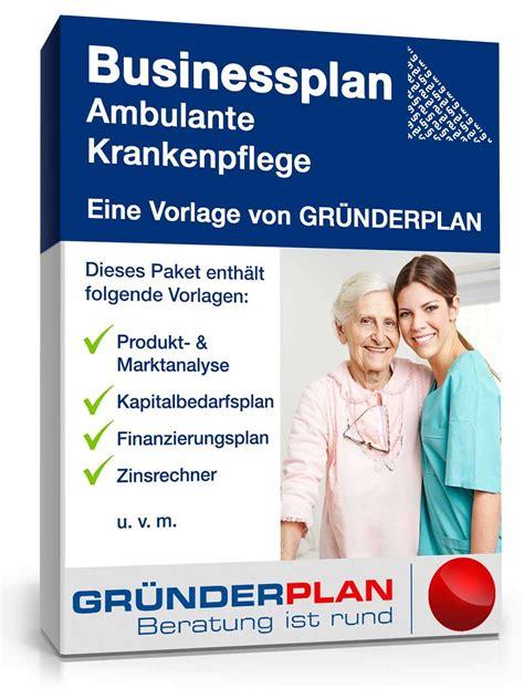 businessplan ambulante krankenpflege von gruenderplan