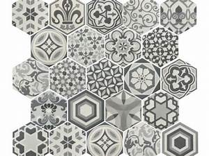 Carrelage Imitation Tomette Hexagonale : carrelage sol salle de bain cuisine et terrasse c ~ Zukunftsfamilie.com Idées de Décoration
