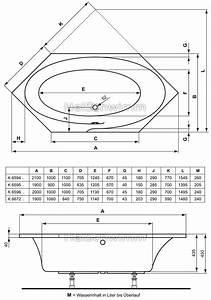 Sechseck Badewanne 180x80 : standard badewanne masse ~ One.caynefoto.club Haus und Dekorationen