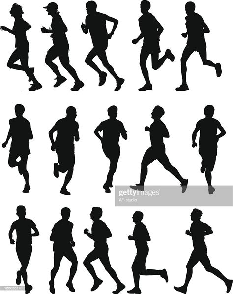 Runners Illustrationer - Getty Images