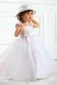 beautiful dress embroidered baby sergine beautiful With robe enfant pour mariage