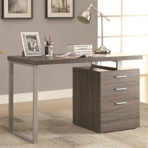 desk with file drawer contemporary office computer writing desk file cabinet
