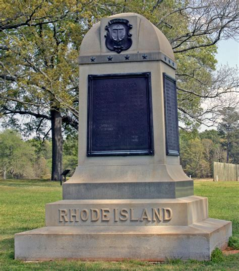 rhode island monument andersonville national historic