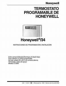 Honeywell Ct3400 Central Heating Download Manual For Free