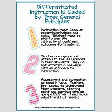 Is Ongoing Assessment Driving Your Differentiated Instruction?  Differentiated Kindergarten