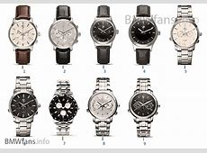 BMW Collection — Watches 1416 BMW Accessories Catalog