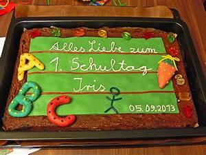 Torte Für Einschulung : tafel kuchen zur einschulung zum schulanfang von cosma2202 ~ Frokenaadalensverden.com Haus und Dekorationen