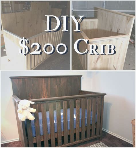 diy baby crib how to build a crib for 200 on house and home