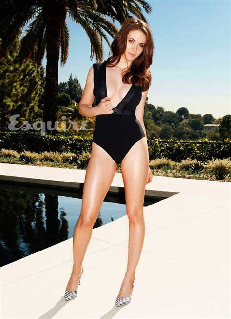 Alison Brie Sexy Photos Alison Brie From Mad Men Hot Photoshoot