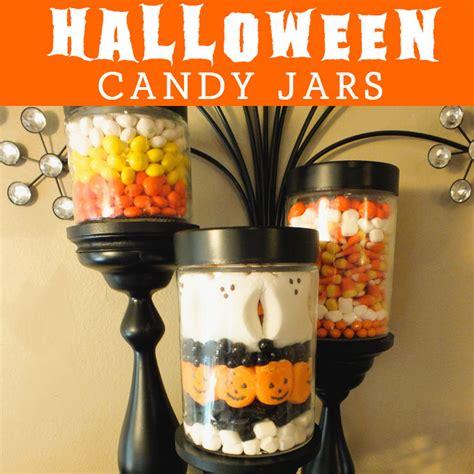 halloween candy jars  sisters