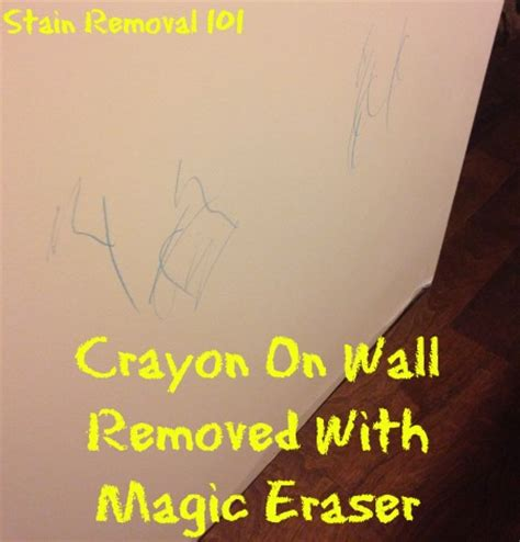 how to get crayon the wall crayon removal from walls several tips and techniques
