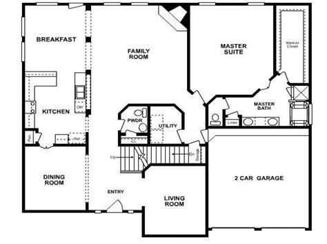 27595 5 bedroom floor plans five bedroom house floor plans 6 bedroom ranch house plans