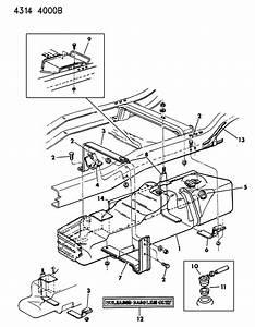 1997 Dodge Ram 1500 Grommet  Rollover Valve  Nfr  Regul