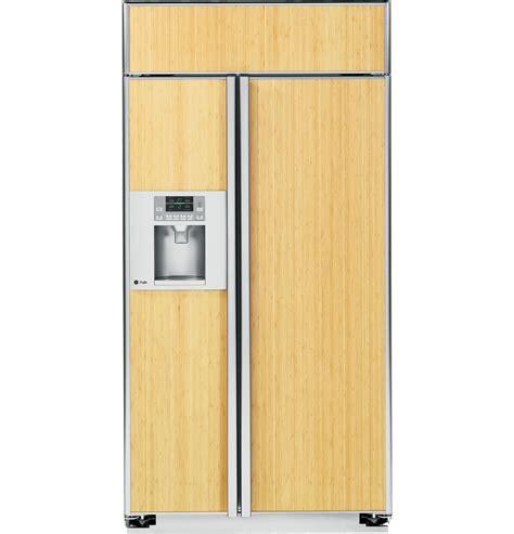 ge profile series  built  side  side refrigerator psbygxsv ge appliances