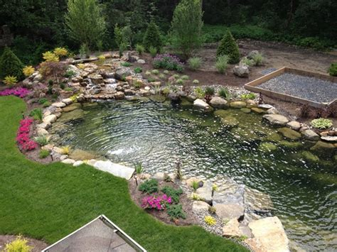 Pictures Of Backyard Ponds by Tips For A Low Maintenance Backyard Pond Decker S