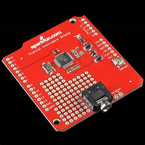 musical instrument shield dev 10529 sparkfun electronics