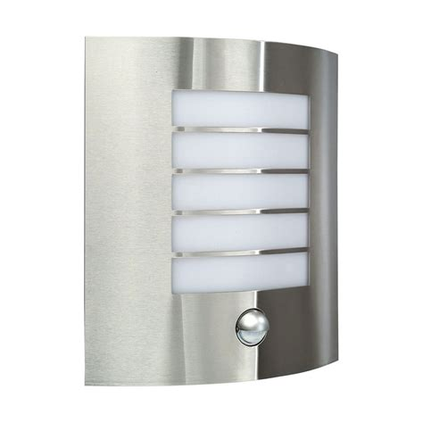 170144710 outdoor pir sensor modern sconce wall lantern