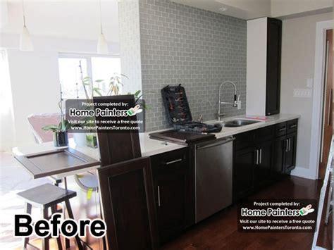 painting kitchen cabinets toronto toronto kitchen cabinets painting staining refinishing 4039
