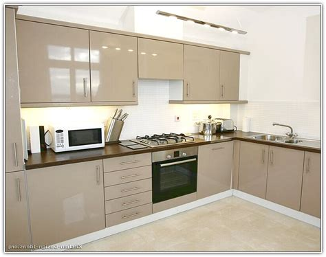 painted beige kitchen cabinets home design ideas
