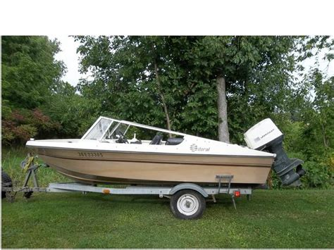 Fishing Boats For Sale Renfrew County by 15 Foot Doral Fishing Boat Motor Trailer