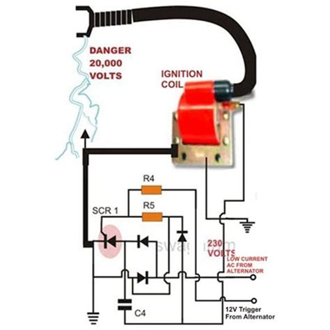 Electric Fence Simple Circuit Diagram