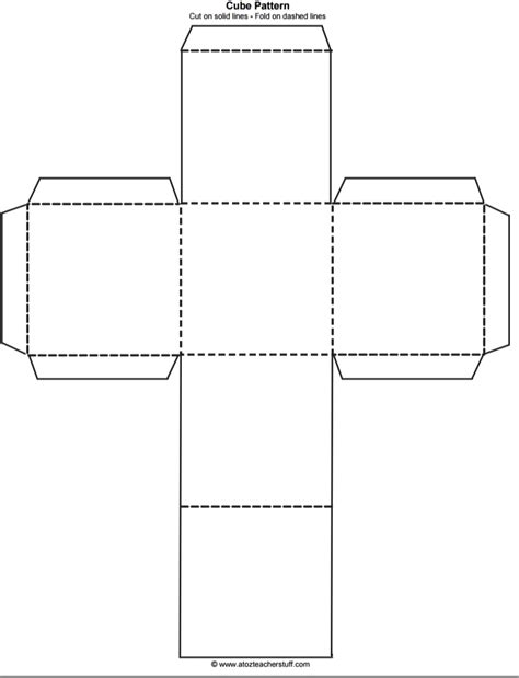 A Template by Printable Square Box Template Journalingsage