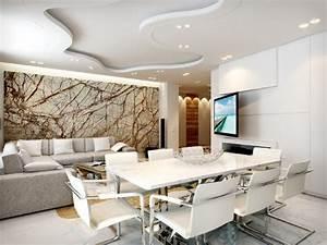 Moderne Wandgestaltung Bad : 30 wohnzimmerw nde ideen streichen und modern gestalten ~ Sanjose-hotels-ca.com Haus und Dekorationen
