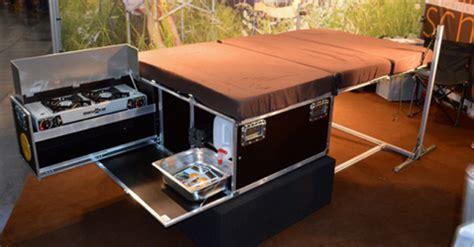 Zen Adventure Van Modifications   Removable Kitchen Setup