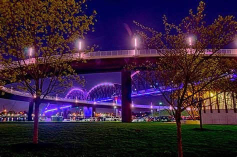 big  bridge louisville waterfront park