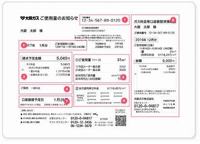 Japanese Gas Bill Japan Number Gaijinpot Bills