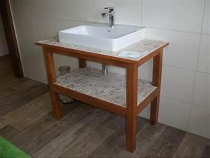 Waschtisch Holz Selber Bauen : waschtisch selber bauen beton ~ Lizthompson.info Haus und Dekorationen