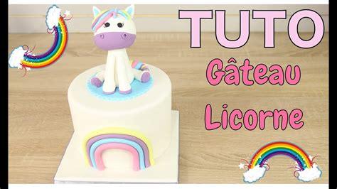 gateau licorne unicorn cake cake design kawaii