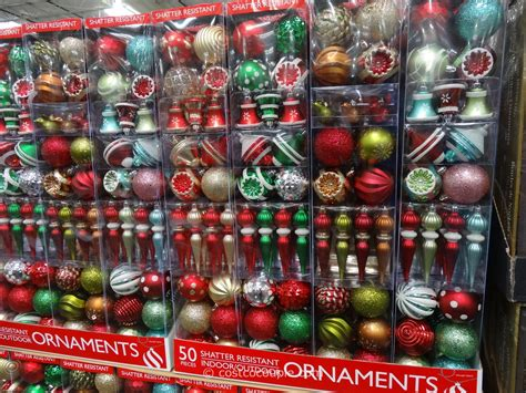when to buy christmas decorations at costco shatter resistant ornaments 50 set