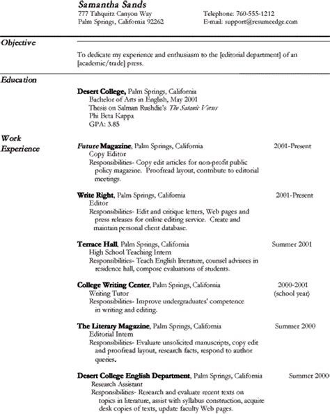 resume format for copy editor copy editor resume resume template 2018