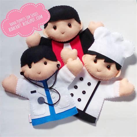 Boneka Tangan Handpuppet Macan biba craft collection koleksi terbaru boneka tangan