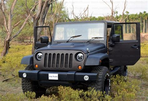 thar jeep modified in kerala mahindra thar to jeep wrangler conversion price