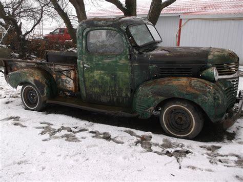 1940 Dodge Pickup Truck 1/2 Ton Short Box Patina Rat Rod