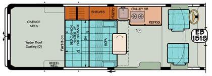 standard van conversion equipment packages furnishings