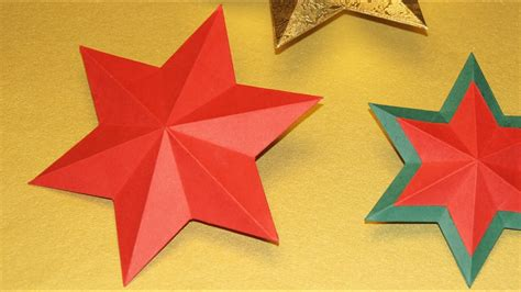 sterne basteln zu weihnachten   stern falten