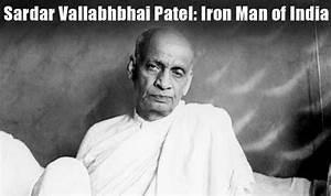 Sardar Vallabhbhai Patel: Top inspirational and noble ...