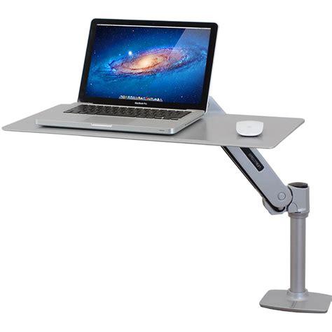 ergotron sit stand desk workstation for apple laptops ergotron 24 408 227 workfit p