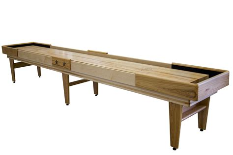 16 foot shuffleboard table 16 foot hickory texan shuffleboard table mcclure tables