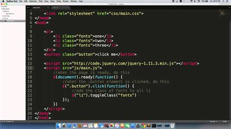 Linking Your Index Html Page Javascript File Youtube
