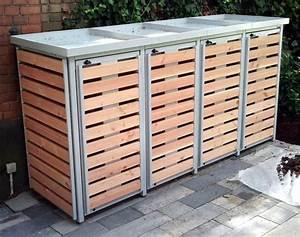 Holzunterstand Selber Bauen : m lltonnenbox f r 4 m lltonnen m lltonnengarage pinterest shops ~ Whattoseeinmadrid.com Haus und Dekorationen