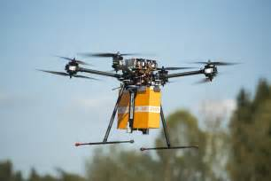Amazon Package Delivery Drone